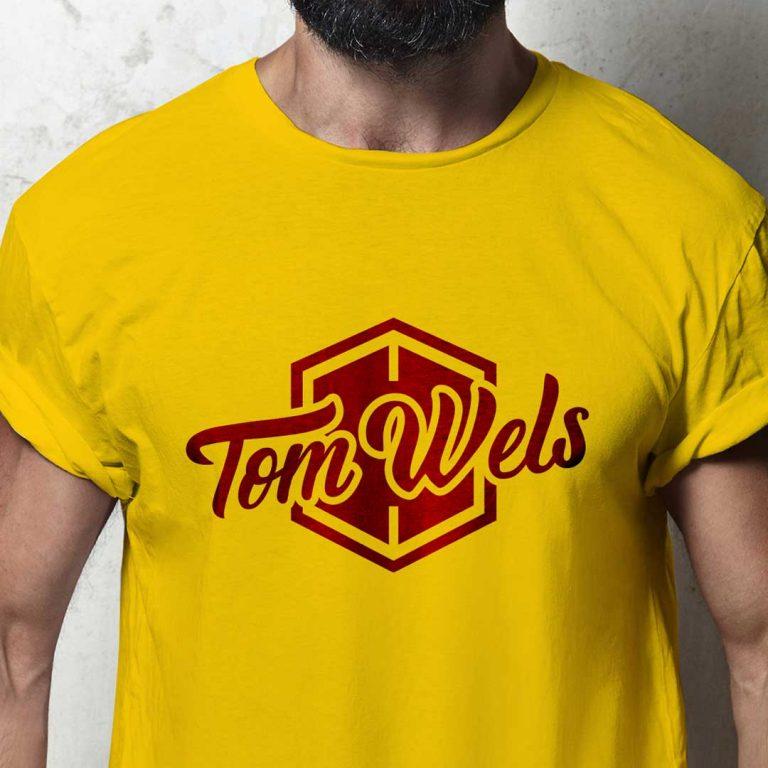 Djangonaut - Handlettering - Logotype - Branding - Tom Wels - Fashion Brand - T-Shirt