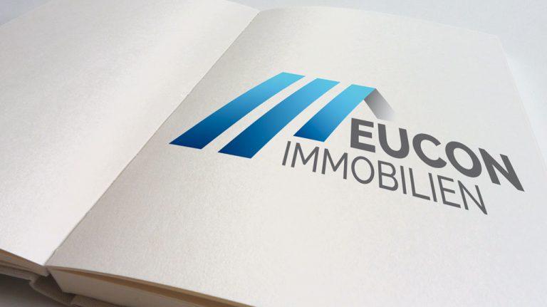 Djangonaut - Graphic Design - Branding - Logodesign - Eucon Immobilien - Logo - Sketchbook