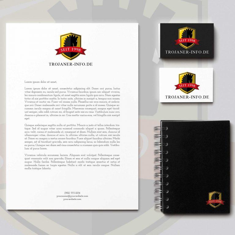 Djangonaut - Graphic Design - Branding - Logodesign - Trojaner-Info.de - Corporate Identity