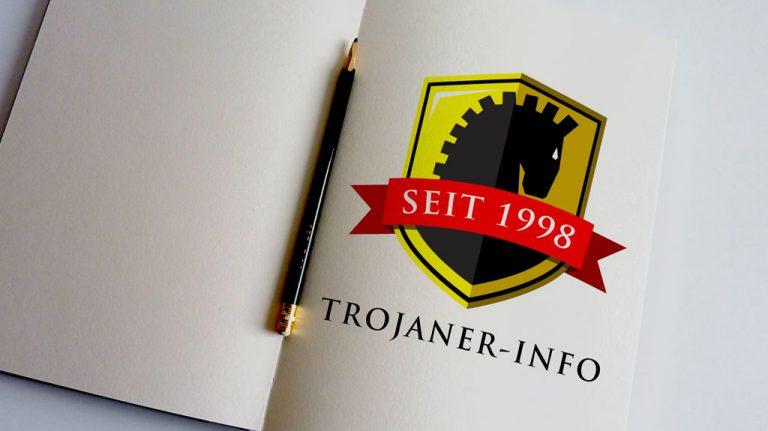 Djangonaut - Graphic Design - Branding - Logodesign - Trojaner-Info.de Logo - Sketchbook