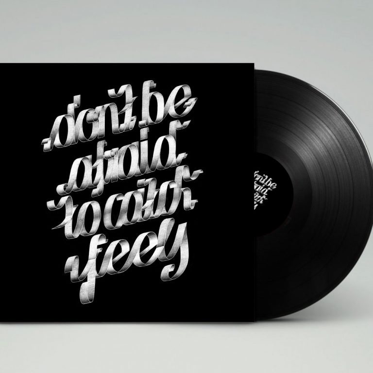 Djangonaut - Graphic Design - Handlettering - Illustration - Kate Perry - Feels - LP Cover