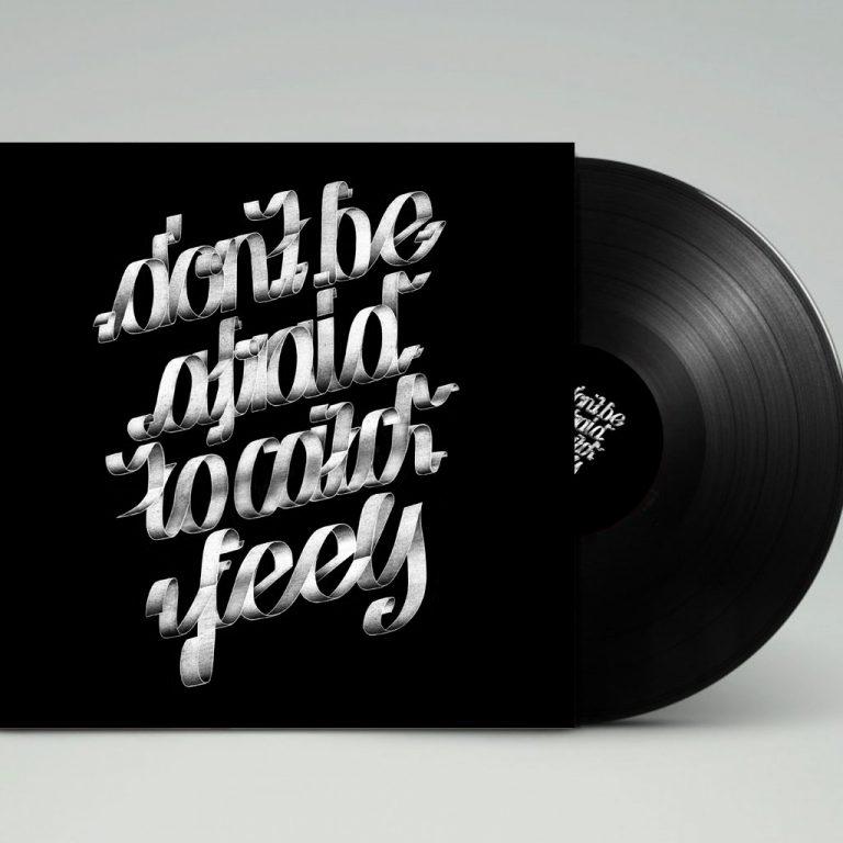 Djangonaut - Graphic Design - Handlettering - Illustration - Kate Perry - Feels - LP Cover