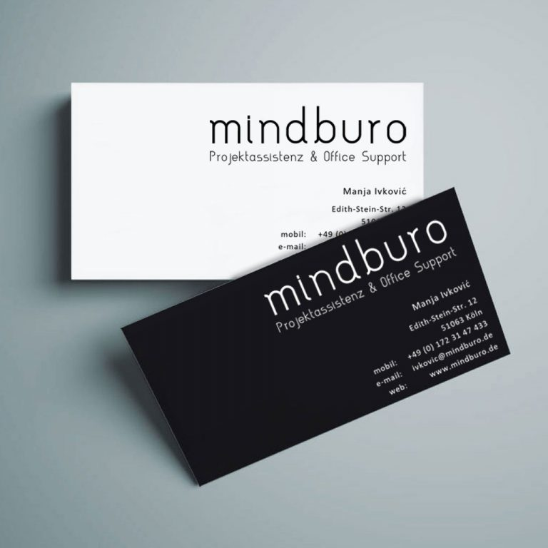 Djangonaut- Graphic Design - Logotype - mindburo - Business Cards