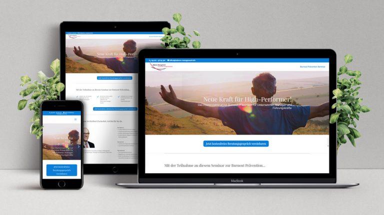 Djangonaut - Graphic Design - Webdesign - SEO - Balance Management - Landing Page