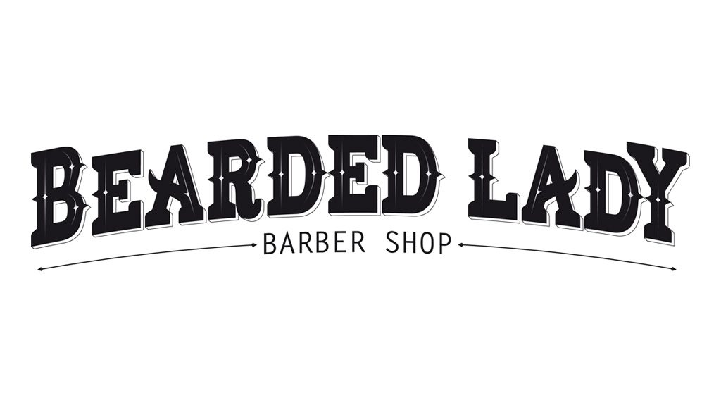 Djangonaut - Handlettering - Logotype - Branding - Bearded Lady Barber Shop