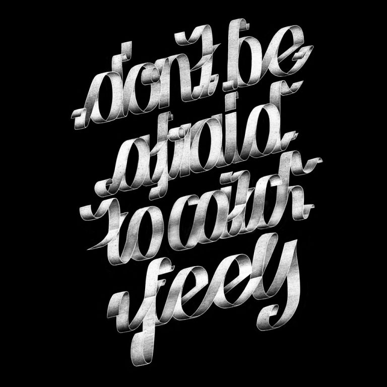 Djangonaut - Graphic Design - Handlettering - Illustration - Kate Perry - Feels