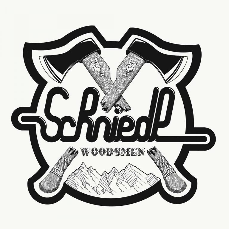 Djangonaut - Handlettering - Illustration - Schniedl Woodsmen