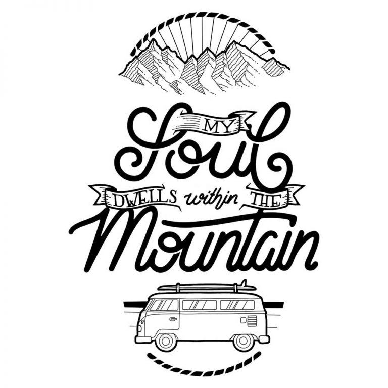 Djangonaut - Handlettering - Illustration - Soul Mountain Bully